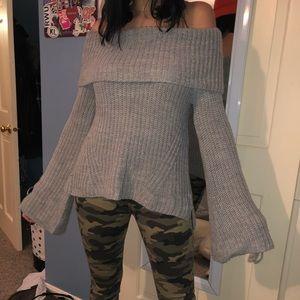 NWOT off the shoulder sweater